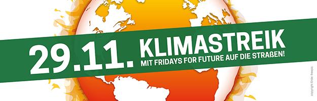 29.11. Klimastreik Mit Fridays for Future auf die Straßen!